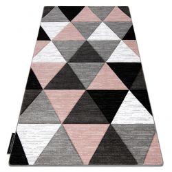 Alfombra ALTER RINO Triángulos rosado