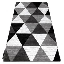 Koberec ALTER Rino trojuholníky sivá