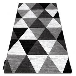 Teppich ALTER Rino Dreiecke grau