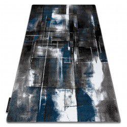 Dywan INTERO ART 3D Abstrakcja niebieski