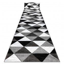 Läufer ALTER Rino Dreiecke grau