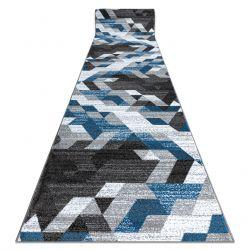 Běhoun INTERO TECHNIC 3D diamanty trojúhelníky modrý