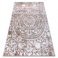 Teppich RETRO HE183 beige / weiß Vintage