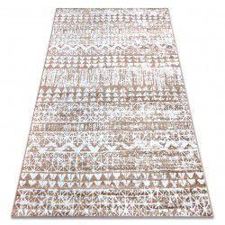 Teppich RETRO HE187 beige / weiß Vintage