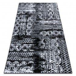 szőnyeg RETRO HE191 fekete / krém Vintage