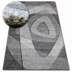 Alfombra SHADOW 8594 negro/gris claro
