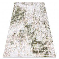 Килим AKRYL USKUP 9483 слонової кістки / зелений