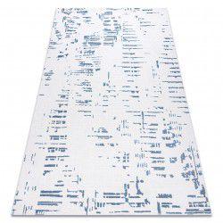 Килим AKRYL DIZAYN 8840 слонової кістки / синій