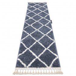 Covorul, Traversa BERBER CROSS gri — pentru bucătărie, hol și coridor