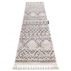 Carpet, Runner BERBER RABAT cream - for the kitchen, corridor & hallway