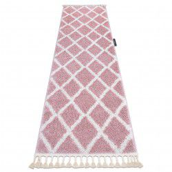 Covorul, Traversa BERBER TROIK roz — pentru bucătărie, hol și coridor