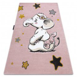 PETIT szőnyeg ELEPHANT ELEFÁNT CSILLAG rózsaszín