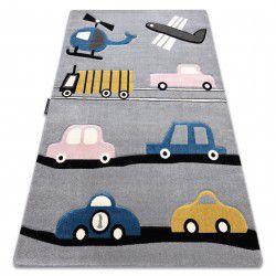 Carpet PETIT TOYS CARS grey