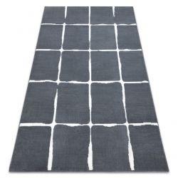 Koberec BCF FLASH 33067870, mříž, šedý