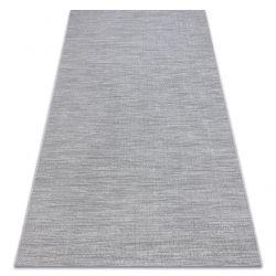 Alfombra sisal FORT 36203053 gris uniforme liso de un color