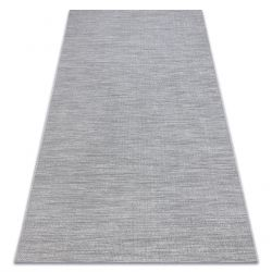 Tappeto SIZAL FORT 36203053 grigio uniforme liscio monocolore