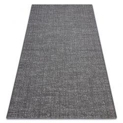 Tapete SIZAL FORT 36203094 cinzento uniforme de uma cor lisa