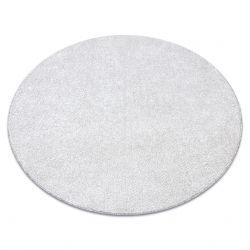 TAPIS cercle SANTA FE crème 031 plaine couleur unie