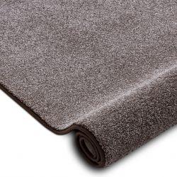 Wykładzina dywanowa SAN MIGUEL brąz 41 gładki, jednolity, jednokolorowy
