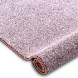Teppichboden SAN MIGUEL erröten rosa 61 eben, glatt, einfarbig