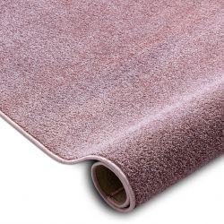Wykładzina dywanowa SANTA FE brudny róż 60 gładki, jednolity, jednokolorowy