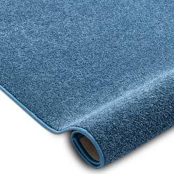 Teppichboden SANTA FE blau 74 eben, glatt, einfarbig