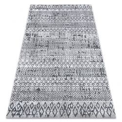 Carpet Structural SIERRA G6042 Flat woven light grey - geometric, ethnic