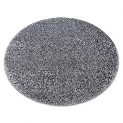 Teppich SHAGGY NARIN Kreis P901 grau