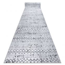 Runner Structural SIERRA G6042 Flat woven grey - geometric, ethnic