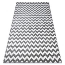 Sketch szőnyeg - F561 szürke / fehér - Cikcakk
