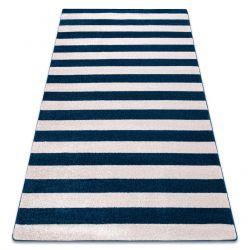 Carpet SKETCH - F758 blue/white - Striped