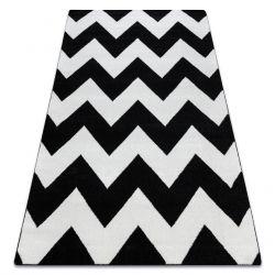 Alfombra SKETCH - FA66 negro/blanco - Zigzag