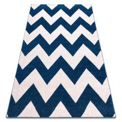 Tapete SKETCH - FA66 azul/branco - Zigzag