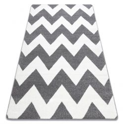 Alfombra SKETCH - FA66 gris/blanco - Zigzag