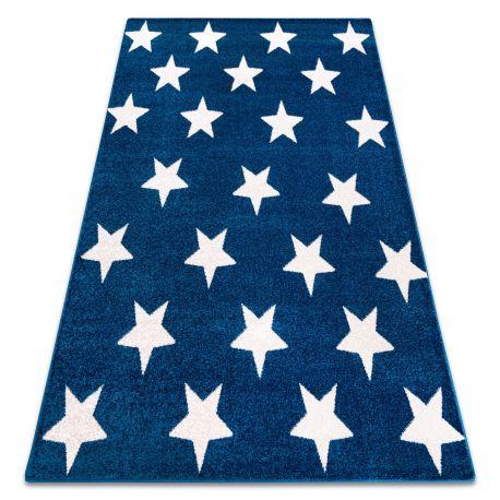 Sketch szőnyeg - FA68 kék/fehér - Csillagok