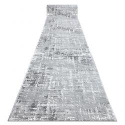 MEFE futó szőnyeg Structural 8722 két szintű gyapjú szürke / fehér