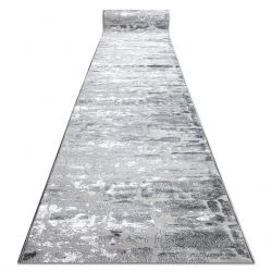 MEFE futó szőnyeg Structural 6184 két szintű gyapjú sötétszürke