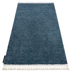 Carpet BERBER 9000 blue Fringe Berber Moroccan shaggy