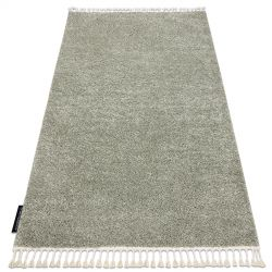 Carpet BERBER 9000 green Fringe Berber Moroccan shaggy
