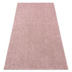 Tappeto moderno lavabile LATIO 71351022 rosa cipria