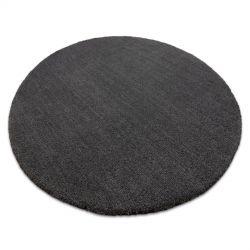 Modern, mosható szőnyeg LATIO 71351100 kör szürke