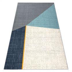 Teppich SCANDI 18525671 - Trapez grau creme türkis