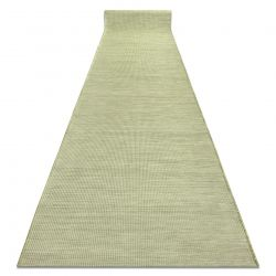 Lapos szövésű futó szőnyeg SIZAL PATIO egységes formatervezésű, 2778 zöld