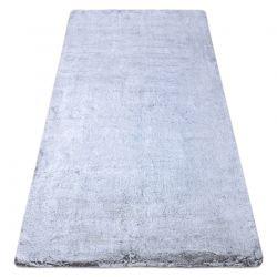 Moderner Waschteppich LAPIN Shaggy, Antirutsch grau / elfenbein