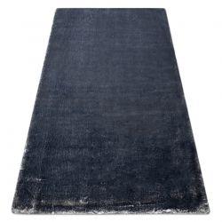 Moderner Waschteppich LAPIN Shaggy, Antirutsch elfenbein / schwarz
