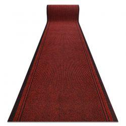 Lábtörlő csúszásgátló futó szőnyeg MALAGA piros 3066