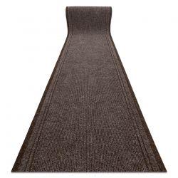 Lábtörlő csúszásgátló futó szőnyeg MALAGA barna 7058