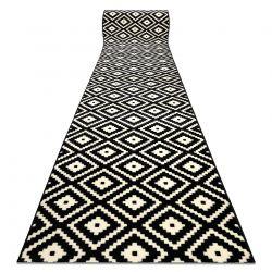 Bcf futó szőnyeg BASE Ruta 3990 gyémánt fekete / elefántcsont