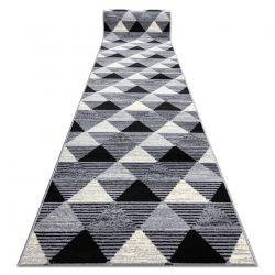 Bcf futó szőnyeg BASE 3986 Geometric háromszögek geometriai szürke