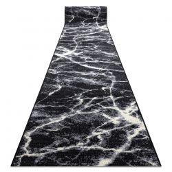 Bcf futó szőnyeg BASE Stone 3988 Kő Márvány fekete